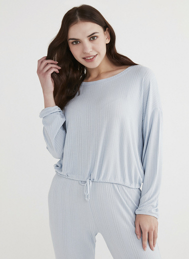 Penti Pijama Üst Mavi